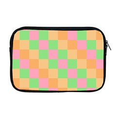 Checkerboard Pastel Squares Apple Macbook Pro 17  Zipper Case by Sapixe