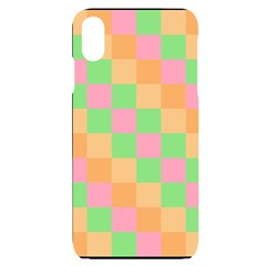 Checkerboard Pastel Squares Iphone Xs Max