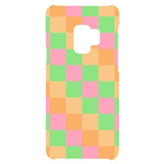 Checkerboard Pastel Squares Samsung S9 Black Uv Print Case