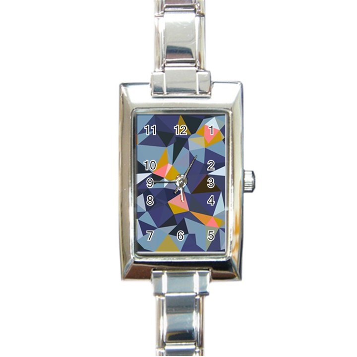 33sahara392 Rectangle Italian Charm Watch