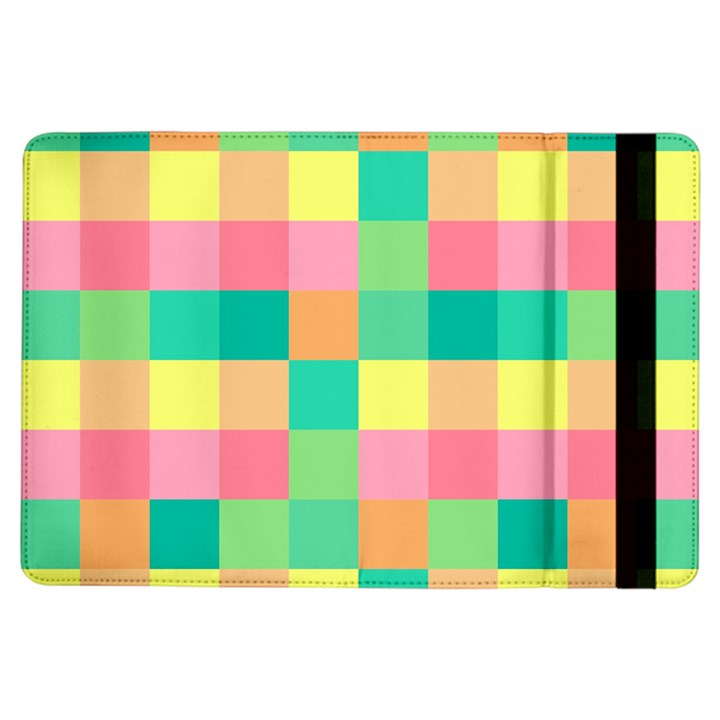 Checkerboard Pastel Squares iPad Air Flip