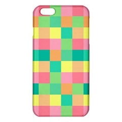 Checkerboard Pastel Squares Iphone 6 Plus/6s Plus Tpu Case by Sapixe