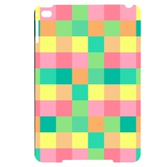 Checkerboard Pastel Squares Apple Ipad Mini 4 Black Uv Print Case