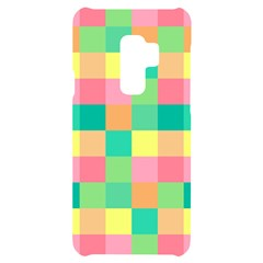 Checkerboard Pastel Squares Samsung S9 Plus Black Uv Print Case