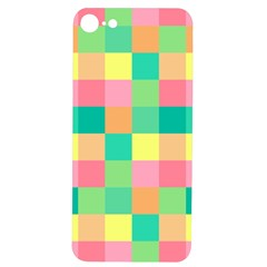 Checkerboard Pastel Squares Iphone 7/8 Soft Bumper Uv Case