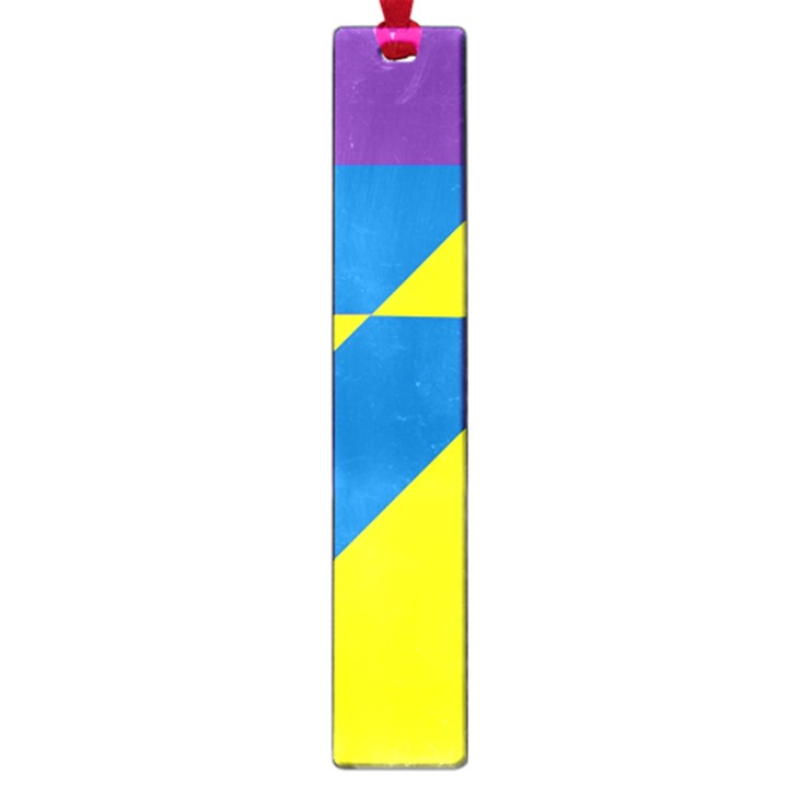 Colorful Red Yellow Blue Purple Large Book Marks