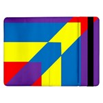 Colorful Red Yellow Blue Purple Samsung Galaxy Tab Pro 12.2  Flip Case Front