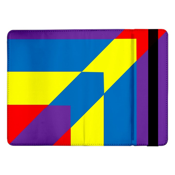 Colorful Red Yellow Blue Purple Samsung Galaxy Tab Pro 12.2  Flip Case