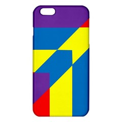 Colorful Red Yellow Blue Purple Iphone 6 Plus/6s Plus Tpu Case