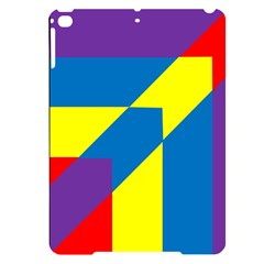 Colorful Red Yellow Blue Purple Apple Ipad Pro 9 7   Black Uv Print Case