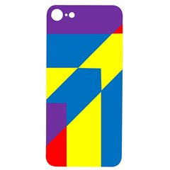 Colorful Red Yellow Blue Purple Iphone 7/8 Soft Bumper Uv Case
