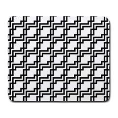 Pattern Monochrome Repeat Large Mousepads