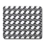 Pattern Monochrome Repeat Large Mousepads Front