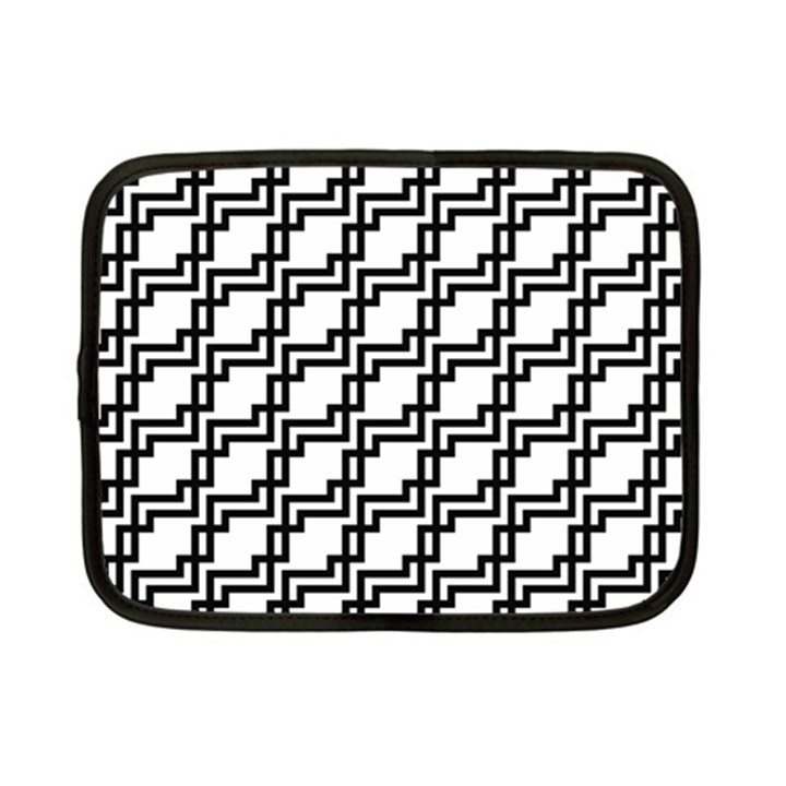 Pattern Monochrome Repeat Netbook Case (Small)