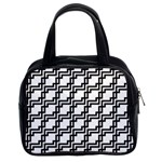 Pattern Monochrome Repeat Classic Handbag (Two Sides) Front