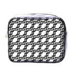 Pattern Monochrome Repeat Mini Toiletries Bag (One Side) Front