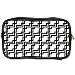 Pattern Monochrome Repeat Toiletries Bag (One Side) Front