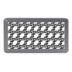 Pattern Monochrome Repeat Memory Card Reader (mini) by Sapixe