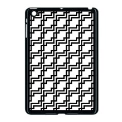 Pattern Monochrome Repeat Apple Ipad Mini Case (black) by Sapixe