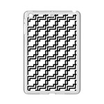 Pattern Monochrome Repeat iPad Mini 2 Enamel Coated Cases Front