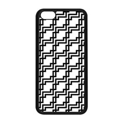 Pattern Monochrome Repeat Iphone 5c Seamless Case (black) by Sapixe