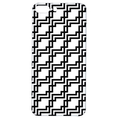 Pattern Monochrome Repeat Iphone 7/8 Plus Soft Bumper Uv Case
