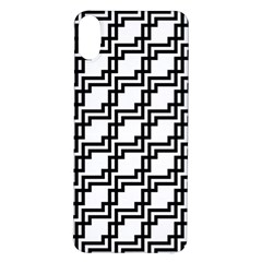 Pattern Monochrome Repeat Iphone X/xs Soft Bumper Uv Case