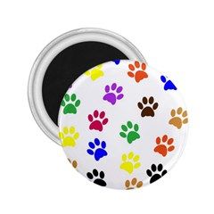 Pawprints Paw Prints Paw Animal 2 25  Magnets