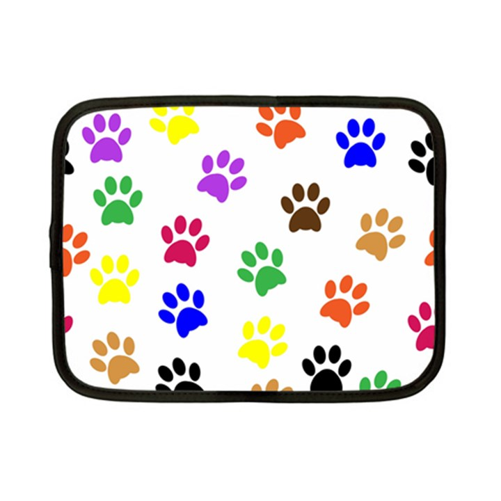 Pawprints Paw Prints Paw Animal Netbook Case (Small)