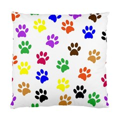 Pawprints Paw Prints Paw Animal Standard Cushion Case (two Sides)