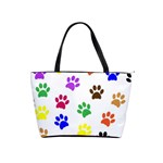 Pawprints Paw Prints Paw Animal Classic Shoulder Handbag Front
