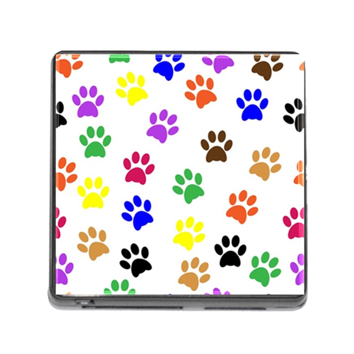 Pawprints Paw Prints Paw Animal Memory Card Reader (Square 5 Slot)