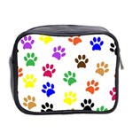 Pawprints Paw Prints Paw Animal Mini Toiletries Bag (Two Sides) Back