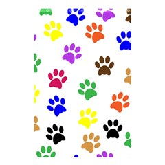 Pawprints Paw Prints Paw Animal Shower Curtain 48  X 72  (small)