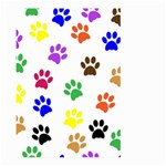 Pawprints Paw Prints Paw Animal Large Garden Flag (Two Sides) Back