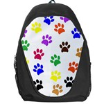 Pawprints Paw Prints Paw Animal Backpack Bag Front