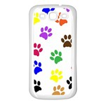 Pawprints Paw Prints Paw Animal Samsung Galaxy S3 Back Case (White) Front