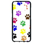 Pawprints Paw Prints Paw Animal Samsung Galaxy S8 Black Seamless Case Front