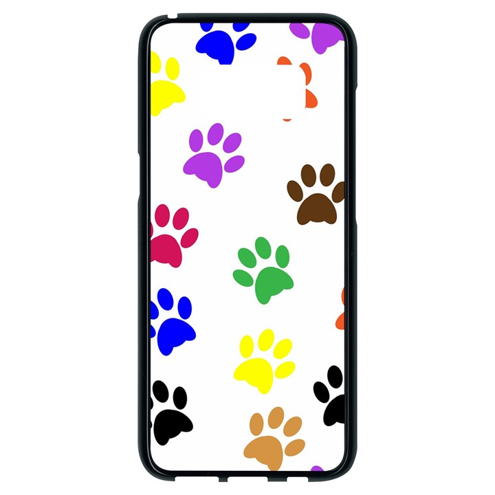 Pawprints Paw Prints Paw Animal Samsung Galaxy S8 Black Seamless Case