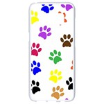 Pawprints Paw Prints Paw Animal Samsung Galaxy S8 White Seamless Case Front