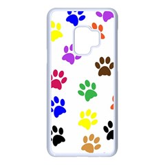 Pawprints Paw Prints Paw Animal Samsung Galaxy S9 Seamless Case(white)