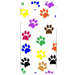 Pawprints Paw Prints Paw Animal Iphone 7/8 Plus Black Uv Print Case