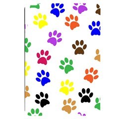Pawprints Paw Prints Paw Animal Apple Ipad Mini 4 Black Uv Print Case