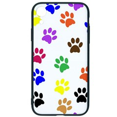 Pawprints Paw Prints Paw Animal Iphone Xr Soft Bumper Uv Case