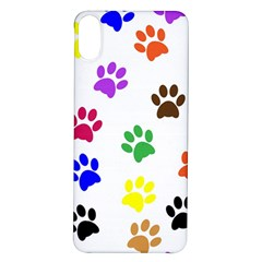 Pawprints Paw Prints Paw Animal Iphone X/xs Soft Bumper Uv Case