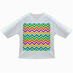 Chevron Pattern Design Texture Infant/toddler T Shirts