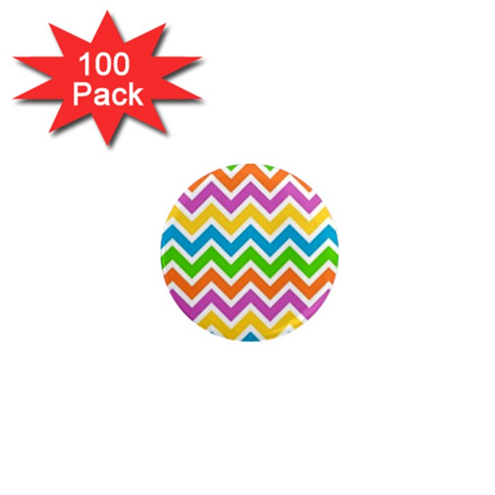 Chevron Pattern Design Texture 1  Mini Magnets (100 pack)