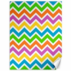 Chevron Pattern Design Texture Canvas 36  X 48