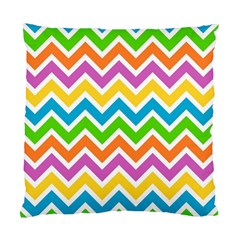 Chevron Pattern Design Texture Standard Cushion Case (two Sides) by Sapixe