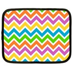 Chevron Pattern Design Texture Netbook Case (XL) Front